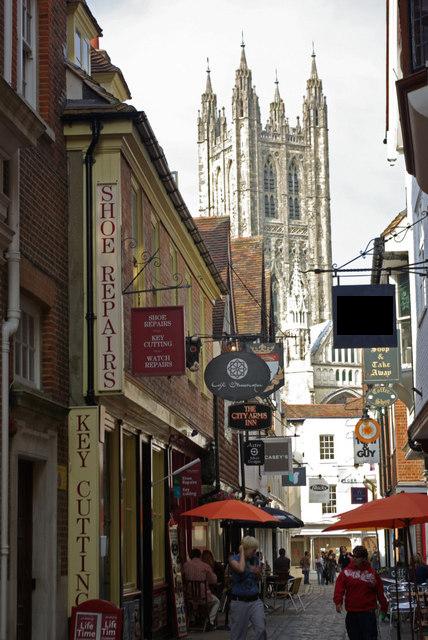 Butchery_Lane,_Canterbury_-_geograph.org.uk_-_826811